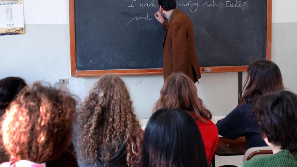 bacio professore forlì