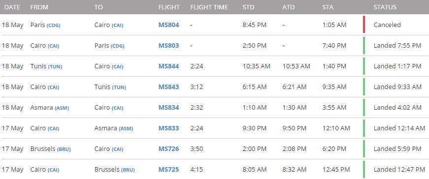 egyptair ms804 aereo caduto 1