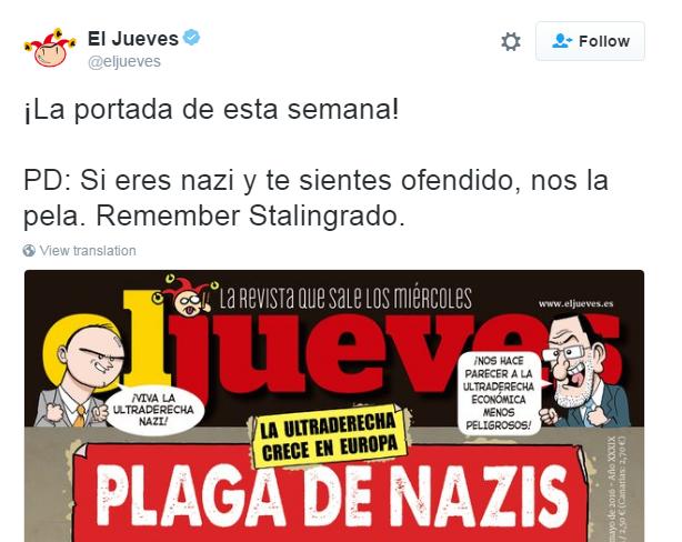 el jueves aggressione nazista direttrice - 2