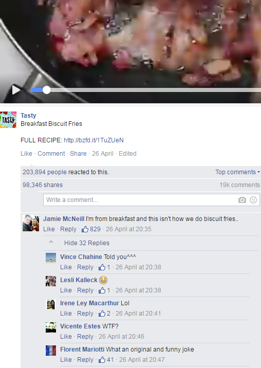 italiani cibo facebook - 3