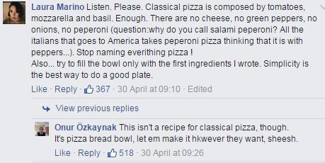 italiani cibo facebook - 9