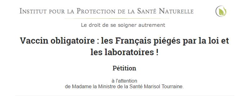 petizione vaccini francia - 1