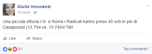 casapound mario adinolfi amministrative roma 2016 - 3