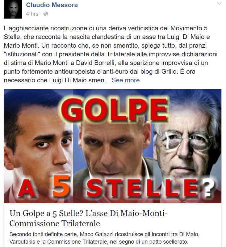 claudio messora movimento 5 stelle 2
