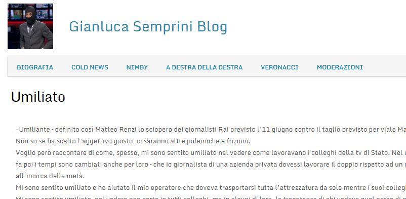gianluca semprini blog