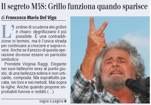 m5s giornale