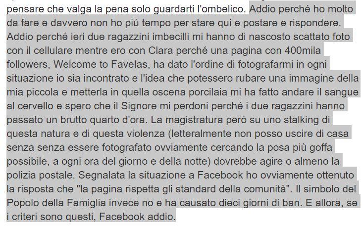 mario adinolfi facebook welcome to favelas