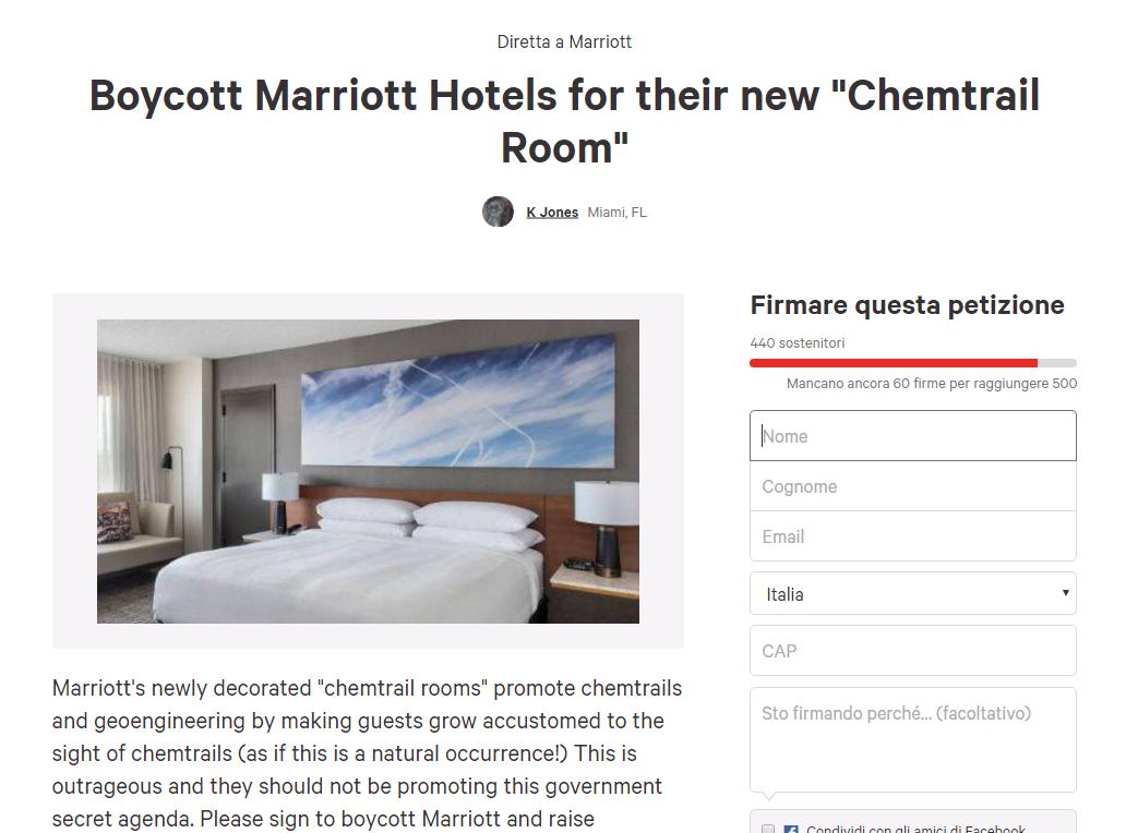marriott petizione scie chimiche - 1