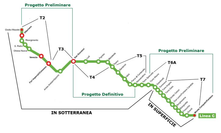 paolo berdini metro c 1