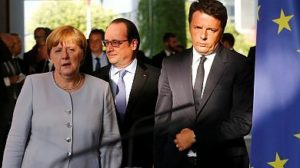 renzi merkel hollande