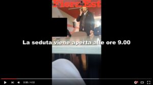 tranchina video consigliere m5s commissione