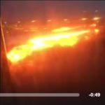 video incendio volo singapore milano