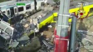 blob vittime incidente treni puglia