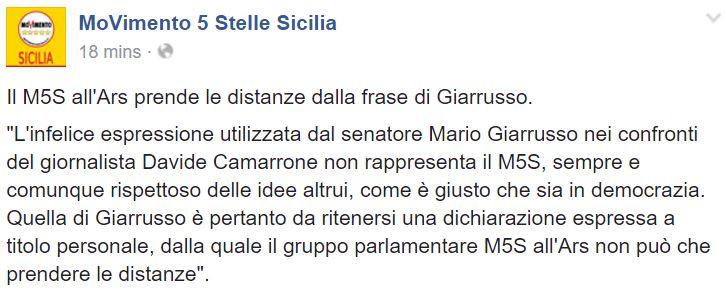 giarrusso m5s sicilia