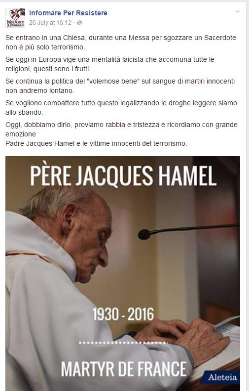 papa bergoglio buonista - 1