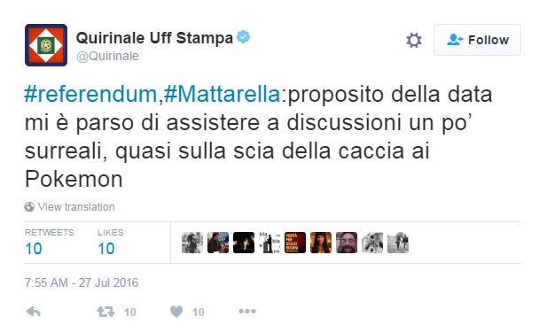 quirinale pokemon go referendum - 1