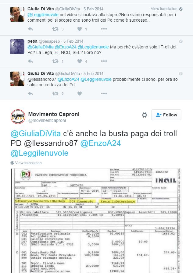 troll pagati PD bufala - 2