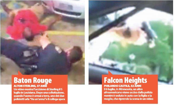 vittime della polizia
