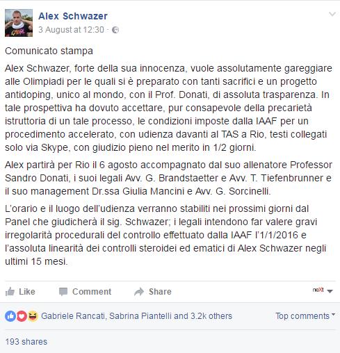 alex schwazer - 1