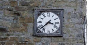 amatrice orologio torre civica