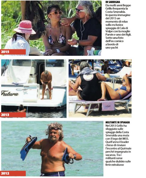 beppe grillo yacht giorgio gori