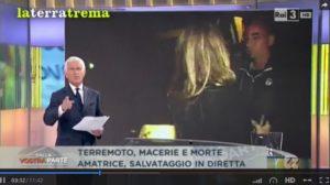 blob terremoto giornalismo italiano
