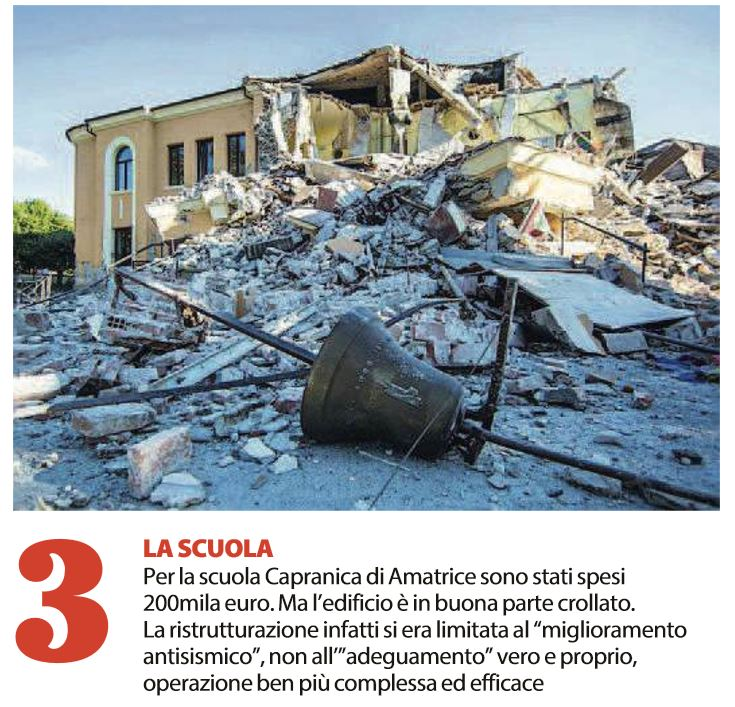 collaudi terremoto fondi antisisma