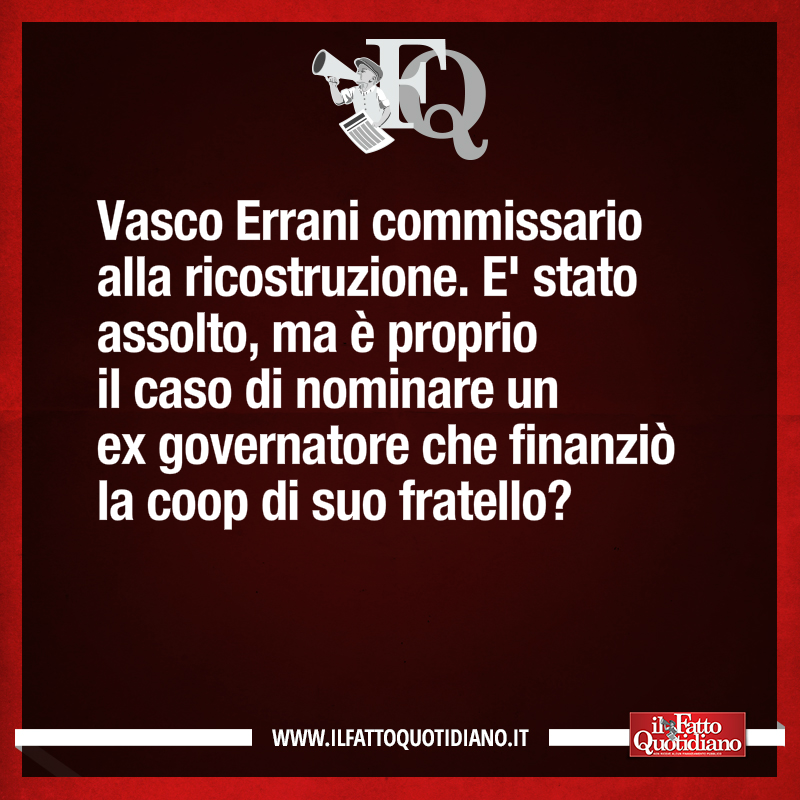 fatto quotidiano vasco errani - 1
