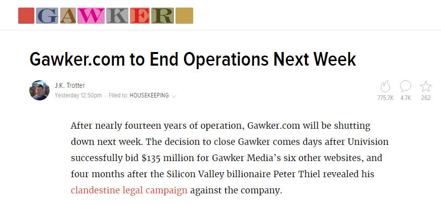 gawker chiusura - 1