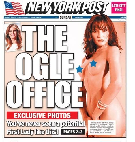 melania trump nuda sul new york post 1