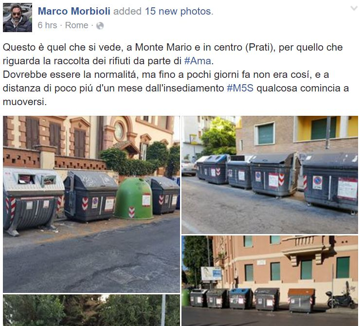 movimento 5 stelle roma pulita