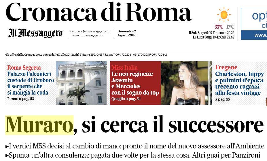 Emergenza rifiuti Roma, proseguono le polemiche Fortini-Muraro e le nostre foto choc