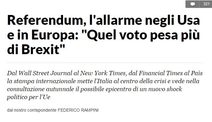 referendum costituzionale wsj brexit - 2
