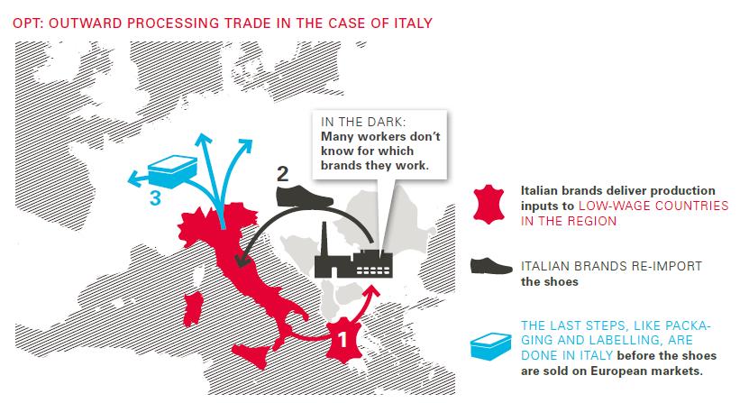 scarpe italiane sfruttamento lavoro - 2