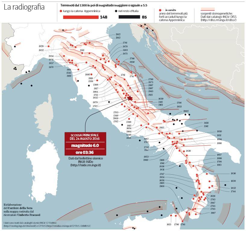 terremoti 1300 oggi