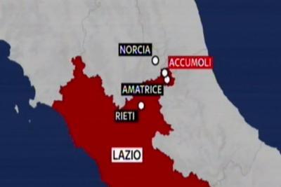 Fortissima scossa di terremoto in provincia di Rieti