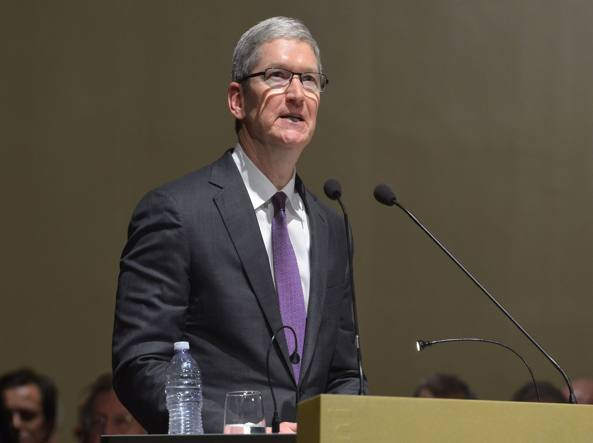 tim cook apple lettera bufala