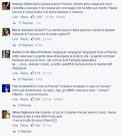 Primo giorno di scuola a Firenze per Agnese Renzi: