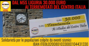 alice salvatore m5s liguria donazioni terremotati -2