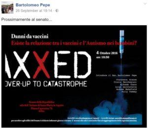 bartolomeo pepe vaxxed