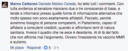 L'intervento di Marco Cattaneo