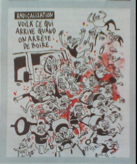 Amatrice querela Charlie Hebdo per diffamazione