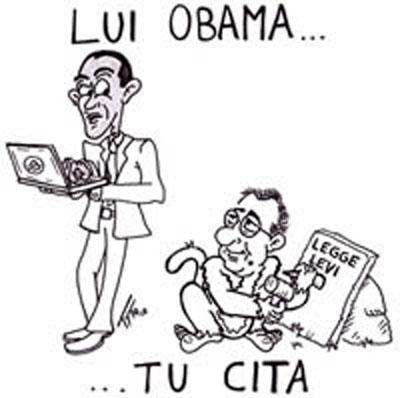 """""""Lui Obama...tu Cita"""", pubblicata in esclusiva su Beppegrillo.it"""