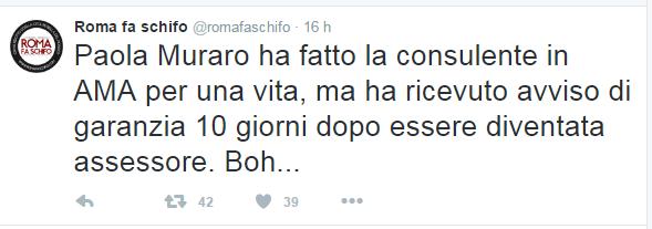 paola muraro grillini reazioni roma fa schifo - 1