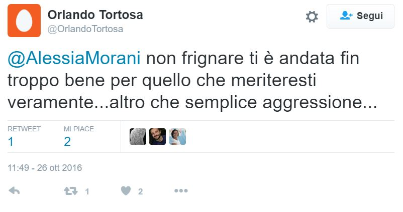 alessia morani aggredita 4