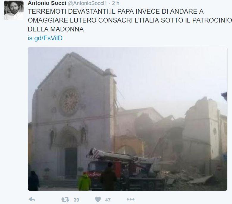 antonio socci terremoto