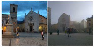 basilica san benedetto norcia crollata 1