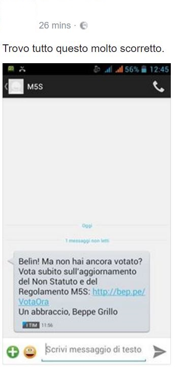 beppe grillo sms 2