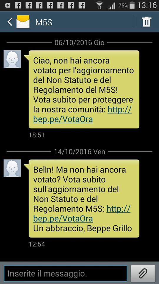 beppe grillo sms 4