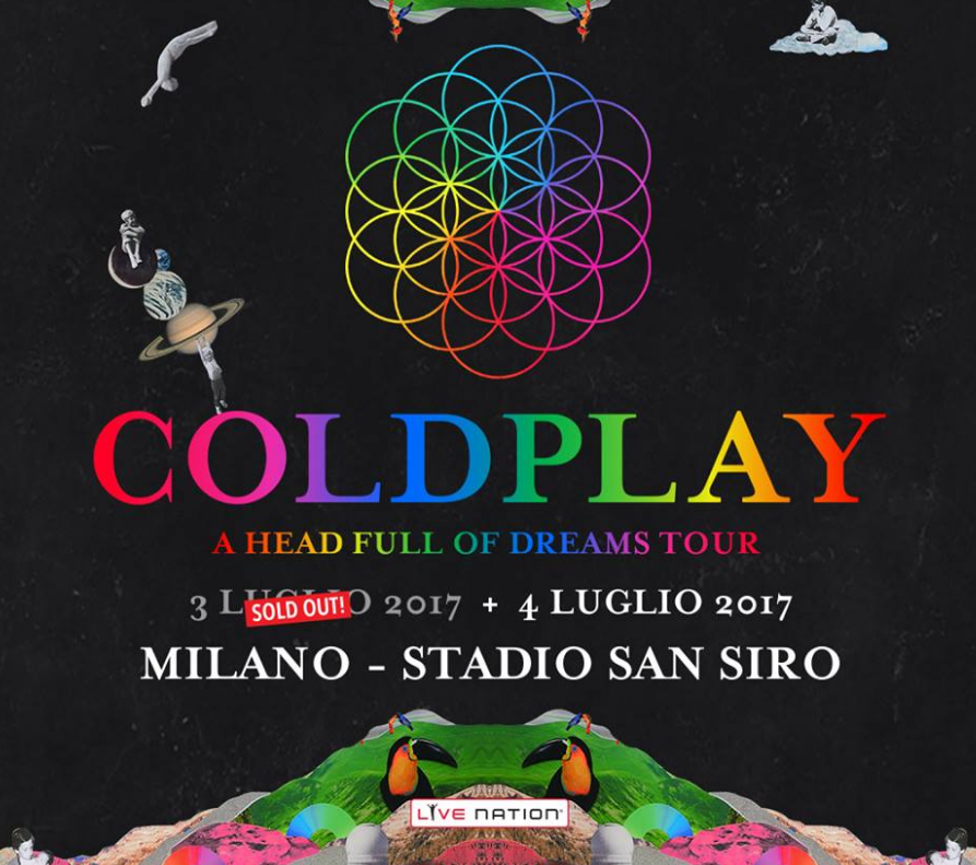 biglietti coldplay ticketone esauriti sold out